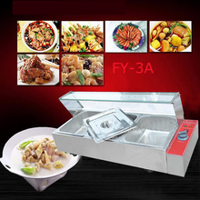 1PC  FY-3A Electric food processor and even cooking stoves of Food preservation machine quipment with 3 pots