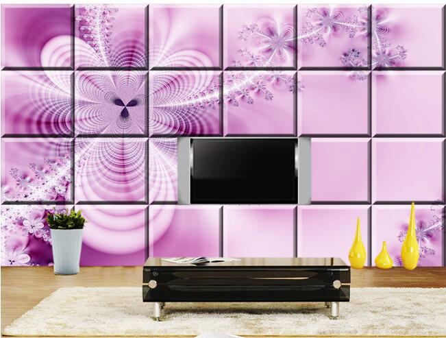 3d wallpaper custom mural non woven 3d room wallpaper Soft package ...