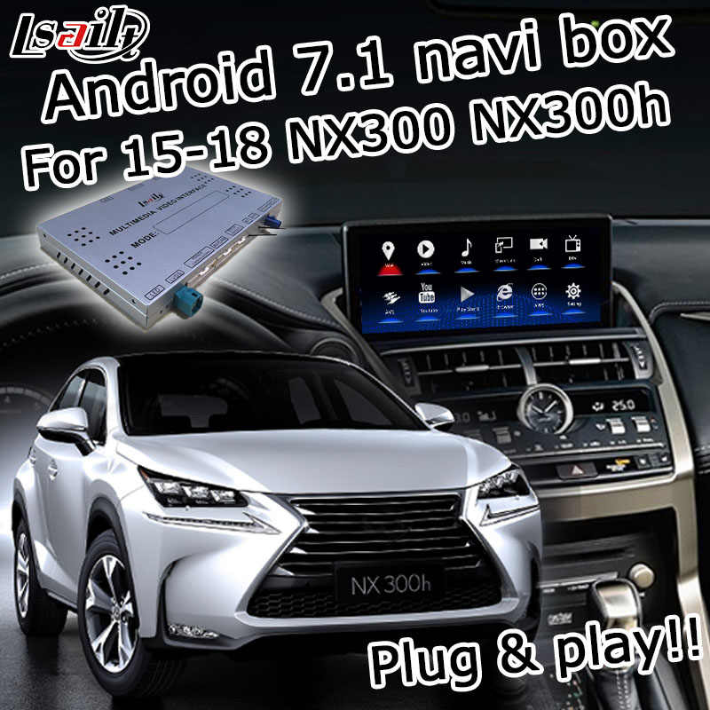 Android 7 1Video Interface GPS Navigation System for Lexus