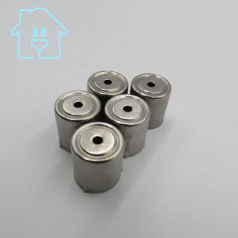 (5 Pro/lot) Stahl Kappe Ersatz Mikrowelle Loch Magnetron 5 Stücke Silber Ton 38% Off Neue Unbenutzt