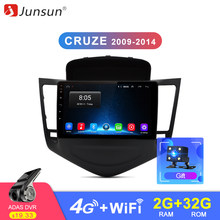 Junsun 2G+32G Android 8.1 4G Car Radio Multimedia Video Player Navigation GPS WiFi 2 din For Chevrolet CRUZE 2009-2014 no DVD(China)