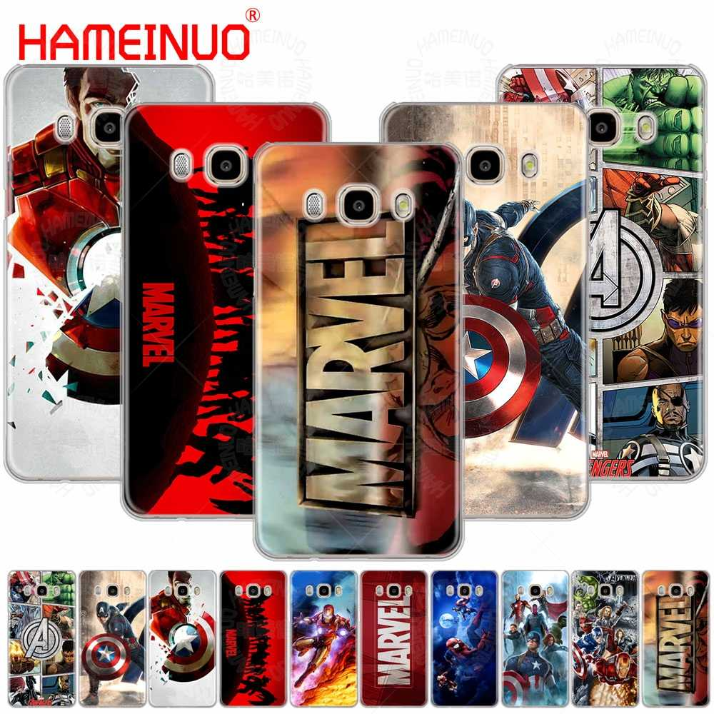 HAMEINUO Marvel Superheroes cover phone case for Samsung Galaxy J1 J2 J3 J5 J7 MINI ACE 2016 2015 prime