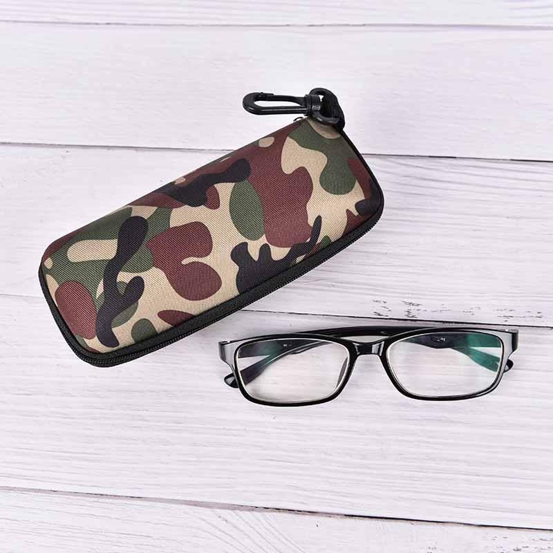 Zielstrebig Neue Gläser Box Sonnenbrille Fall Camouflage Lagerung Schutz Zipper Unisex Container W715 Accessoires Bekleidung Zubehör