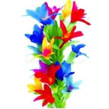 Free shippping Steel Magic Vanishing cane to Flower 19 flower cane to flower wand and bouquet