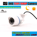 HD 720P 1080P Bullet AHD Camera 1MP 2MP CMOS Security Video HD AHD Single Camera Night Vision IR 20M CCTV Camera For AHD DVR