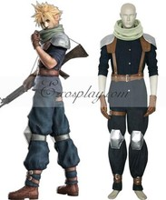 Final Fantasy VII Crisis Core Cloud Strife Cosplay Costume E001