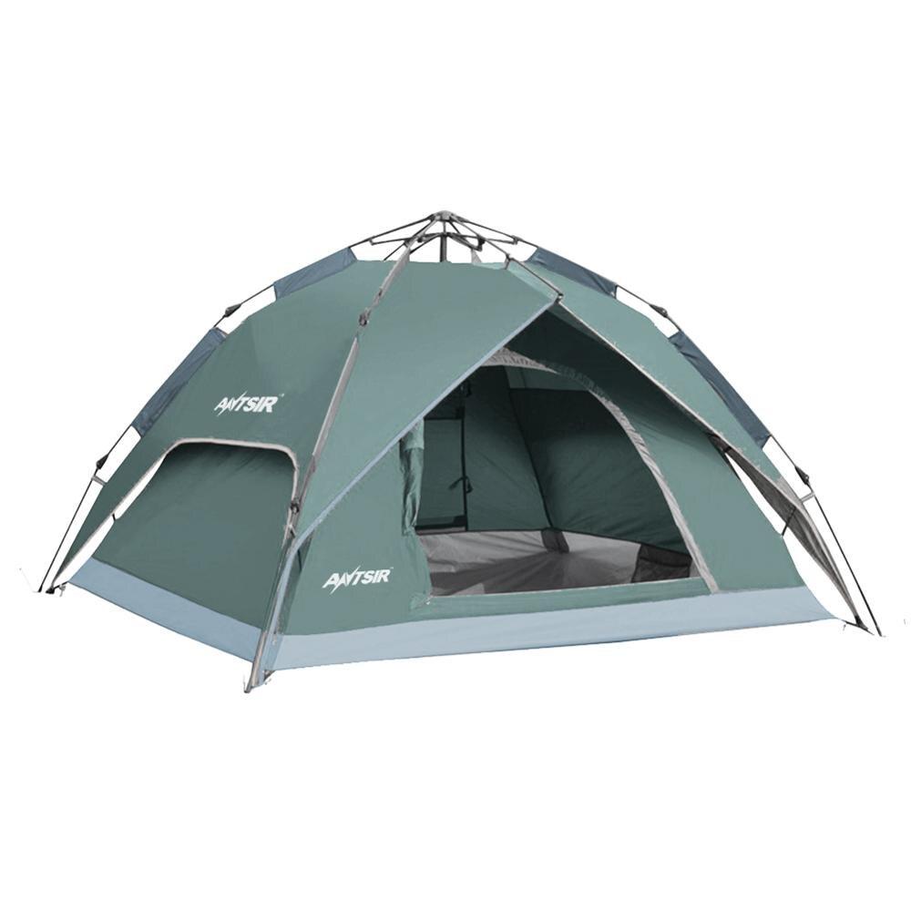 3 couleur 3-4 personne Tentes Hydraulique Automatique Coupe-Vent Étanche Double Couche Tente de Randonnée En Plein Air Camping Pique-Nique Tente