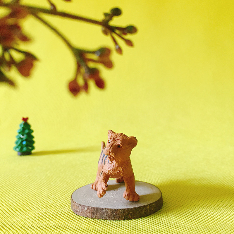 sale~1 Pcs Tiger/animal/fairy garden gnome/moss terrarium home decor/crafts statue/bonsai/bottle garden/miniatures/figurine