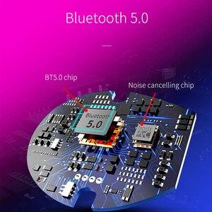 Image 2 - Auricular Bluetooth 5,0 de OUSU TWS, auriculares inalámbricos, auricular manos libres para iphone xiaomi, Cargador USB Original