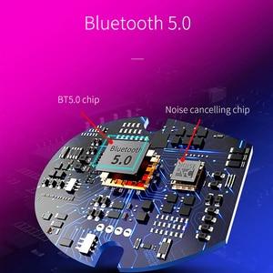 Image 2 - OUSU Bluetooth 5.0 אוזניות TWS אוזניות אלחוטי אוזניות דיבורית אפרכסת עבור iphone xiaomi מקורי auriculares USB מטען
