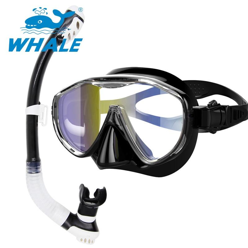 Whale Scuba Diving Mask  Diving Equipment Set MM100-SK100  мойка ilve sk100 v2g