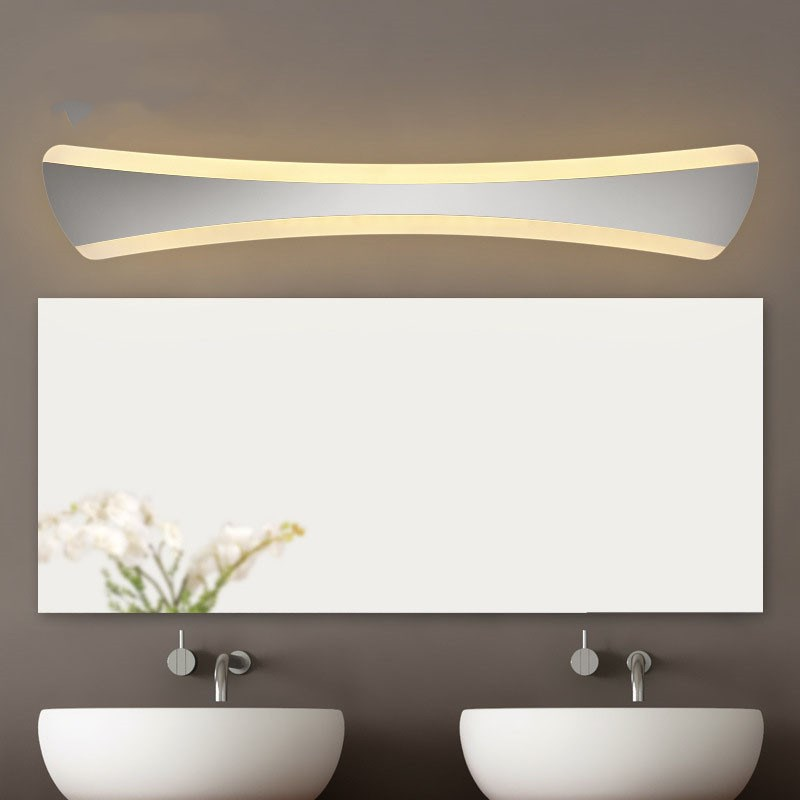 Free shipping 14W 15W Waterproof led mirror light 42cm 55cm Acrylic led lighting for bathroom with led driver AC85-265V free shipping high quality 30w cree cob chip led down light embedded led trunk lamps lighting with led driver ac85 265v