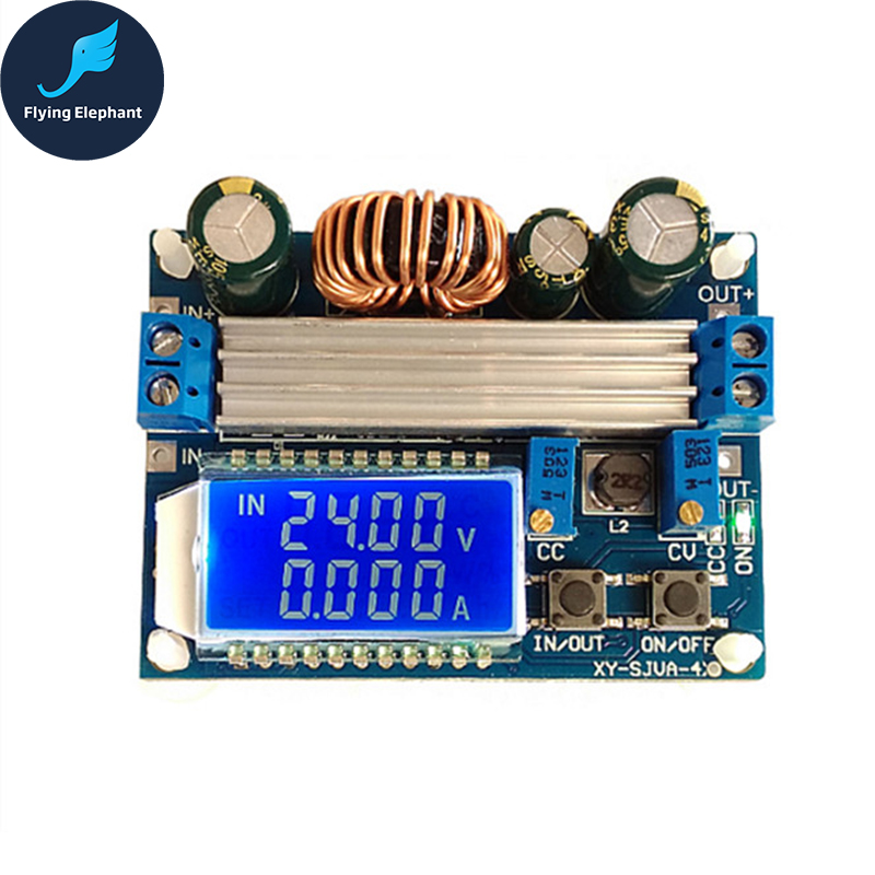 35W Automatic Step up&down Buck Boost Converter Module Adjustable Board With LCD CC CV inter step is cc 2usb000as 000b201
