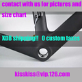 XDB no taxes!T1000 1K Full carbon road bicycle bike frame color 950 sky 958 to 959 Rhino warranty 2 years