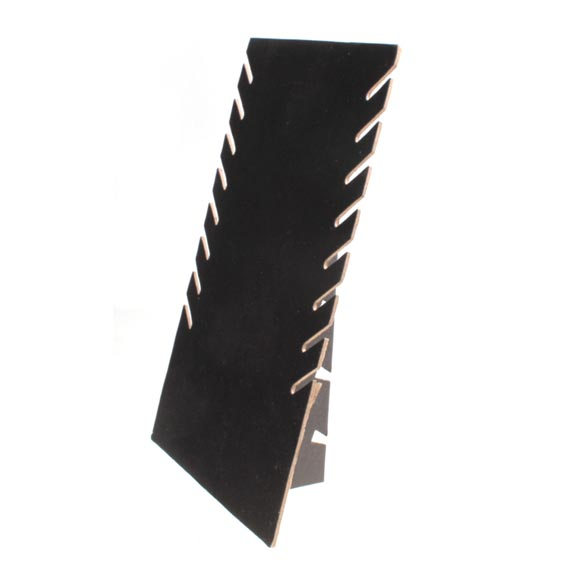 High Quality Black Velvet Necklaces Holder Show Case Display Stand Jewelry Display Base