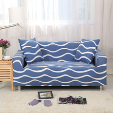 Hot Sale Printed Soft Sofa Cover Universal Seat Plaid on the Couch for Living Room Elastic Striped