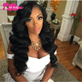 MS Lula Hair Products Brazilian Body Wave With Lace Frontal Closure, 3 Bundles Brazilian Hair Weave Bunlde With Lace Frontal