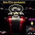 Мотоцикл Тахометр Цифровой Спидометр Метр Чехол для Yamaha FZ 16 FZ16 FAZER150 Двигателя Черный Цвет