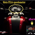 Motorcycle Tachometer Digital Speedometer Meter Case for Yamaha FZ 16 FZ16 FAZER150 Motor Black Color