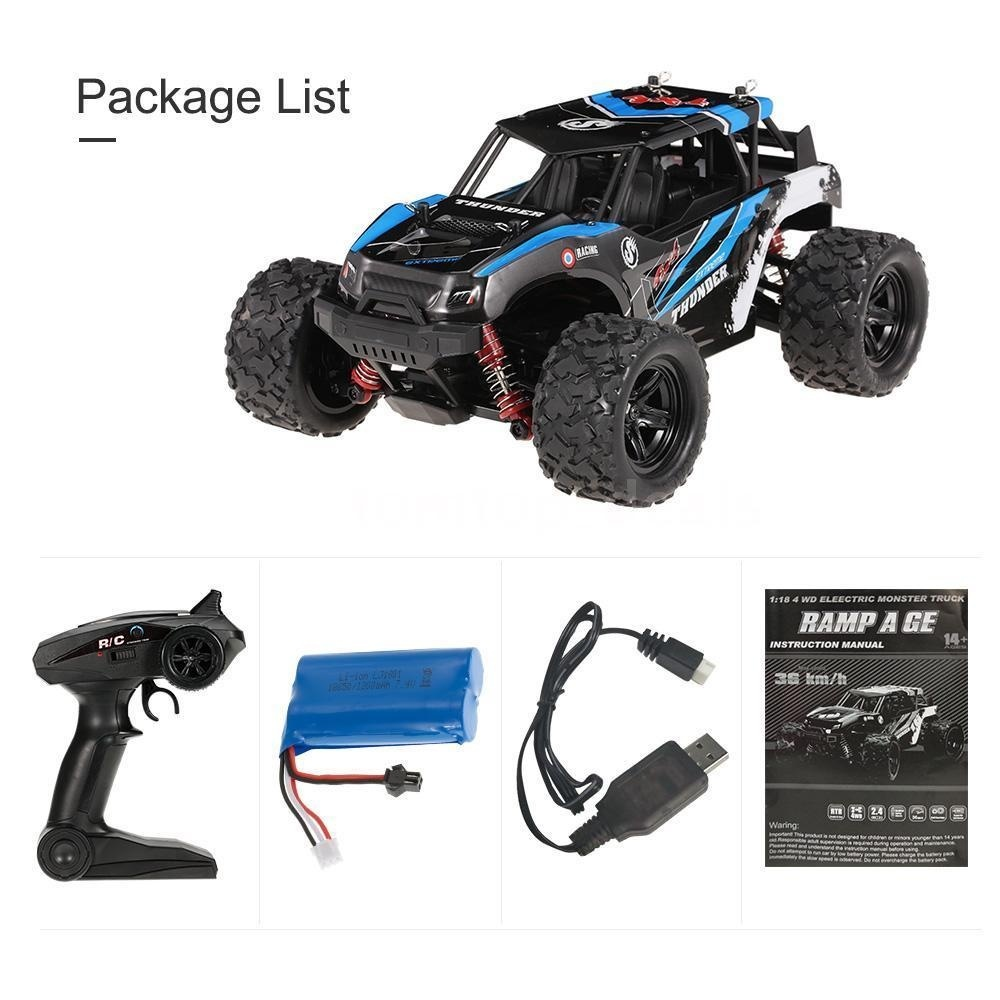 1/18 Racing Car 2.4GHz 4WD 36km/h Remote Control Cars Toys for Boys Plastic Electric Car Kids High Quality New Design1/18 Racing Car 2.4GHz 4WD 36km/h Remote Control Cars Toys for Boys Plastic Electric Car Kids High Quality New Design
