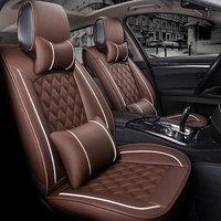 (Front +Rear) Special Leather Car Seat Cover auto seats cushion for mazda cx 9 cx9 familia premacy dodge caliber caravan journey