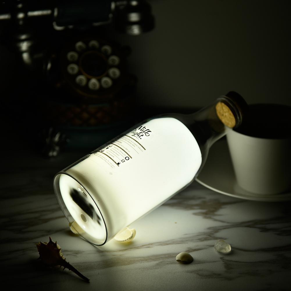 Milk Bottle  Accompany Sleep Light DIY Little Night Lamp Bedroom Bedside Baby Nursing Lamp Innovative Gift for FestivalMilk Bottle  Accompany Sleep Light DIY Little Night Lamp Bedroom Bedside Baby Nursing Lamp Innovative Gift for Festival