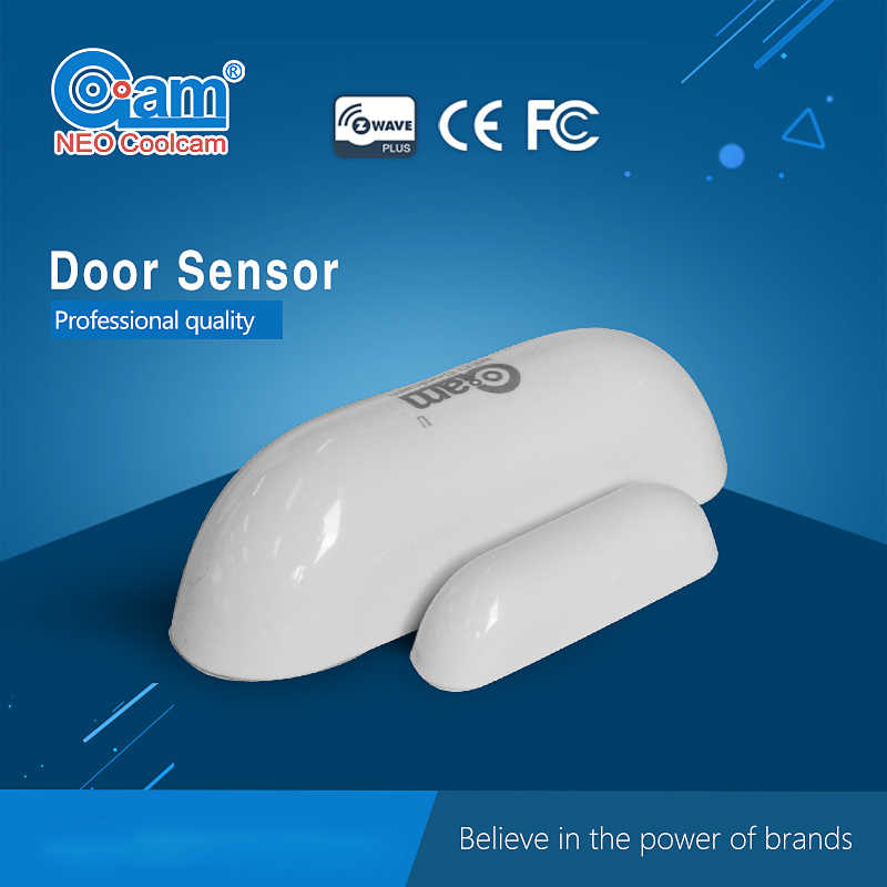 NEO COOLCAM NAS-DS01Z Z-wave Sensor Door/Window Sensor Compatible System with Z-wave 300 series and 500 series Home Automation