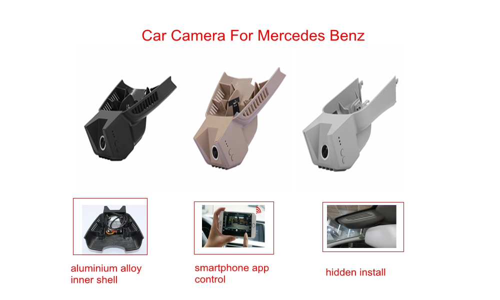 PLUSOBD Event Data Recorder For Mercedes Benz GL/M R W164/X164/W251 Night Vision Camera 170 Angle 30Fps 1080P Car DVR Recorder car seat cover automobiles accessories for benz mercedes c180 c200 gl x164 ml w164 ml320 w163 w110 w114 w115 w124 t124