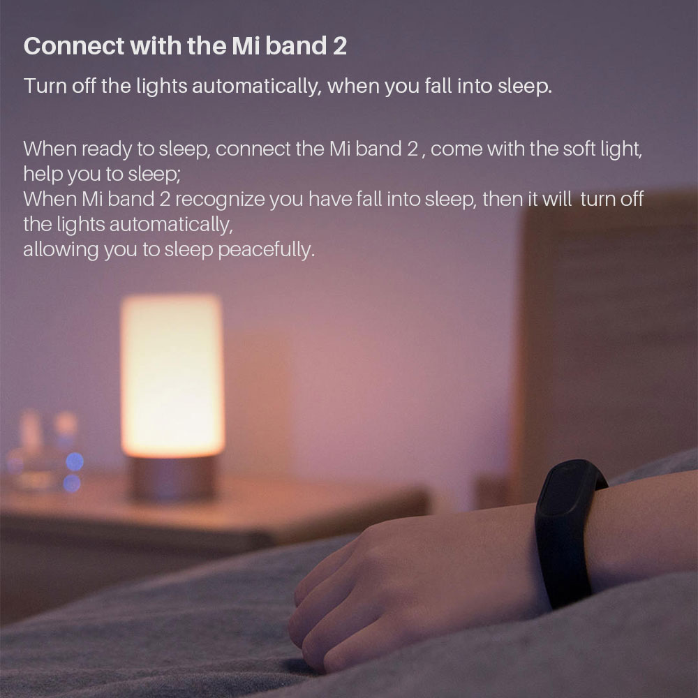 Image 5 - Yeelight Xiaomi Bedside Lamp MJCTD01YL LED Light Table Desk Lamp Smart Light Touch Control Bluetooth Connection for MiHome APP-in Smart Remote Control from Consumer Electronics