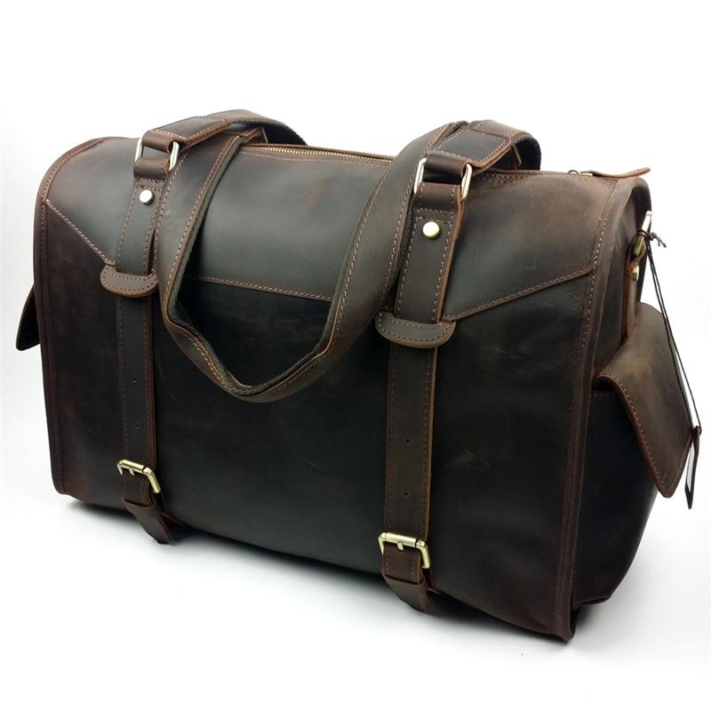NBSAMENG 2017 Top Quality Genuine Leather Travel Tote Bags Men's Luxury Travel Bags Vintage Duffle Bags Overnight Shoulder Bag монитор aoc i2476vwm 23 6 tft ips black