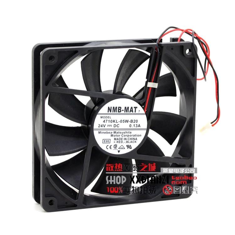 ФОТО 12025 24V 4710KL-05W-B20 0.13A 12CM inverter cooling fan
