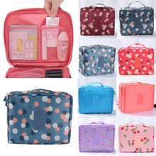 2019 Newest Print Magic Travel Pouch Zipper Bag Lazy Portable Cosmetic Beauty Makeup Toiletry Storage Bags