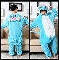 Moda Elefante de la Historieta Diseño Animal Cosplay Pijamas Infantil Chicos Chicas Traviesas de Hombre-Mujer Pijamas Pijamas de Franela Con Capucha Estilo