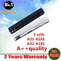 Nuevos 3 celdas de la batería del ordenador portátil A31-X101 A32-X101 para ASUS EeePC X101C X101CH X101H X101 envío gratis