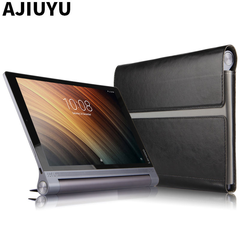 Sleeve For Lenovo Yoga Tab 3 Plus Case Cover Protective Smart Leather Tablet 10 YOGA TAB3 Plus YT-X703F 10.1 inch PU Protector case for lenovo tab 4 10 plus protective cover protector leather tab 3 10 business tab 2 a10 70 a10 30 s6000 tablet pu sleeve 10