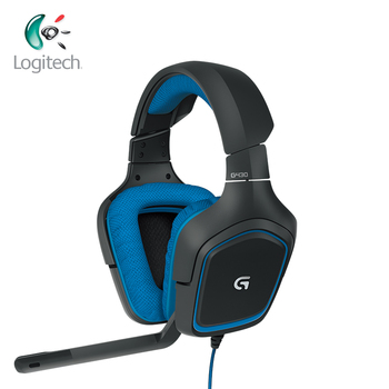 Logitech G430 7.1 Surround Gaming Headphones with Noise-cancelling Mic for Windows PS4 or Xbox Wired Headsets for All Gamer