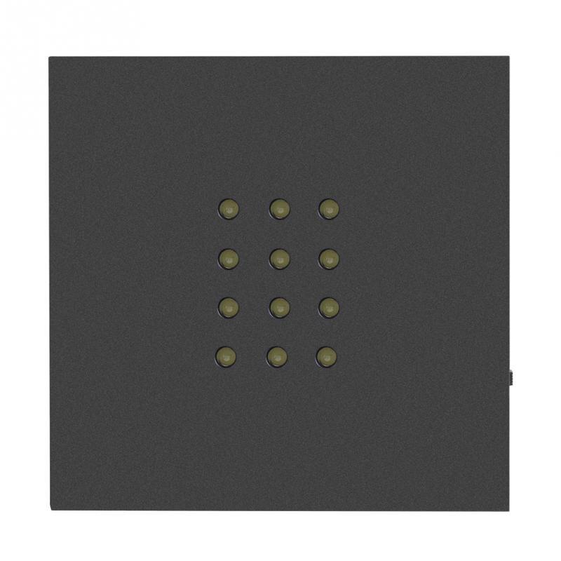 Light Base Black LED Lamp Holder 12LED White Light Display Stand Base Holder for Crystal Glass Art Touch Lamp Bases in Lamp Bases from Lights Lighting