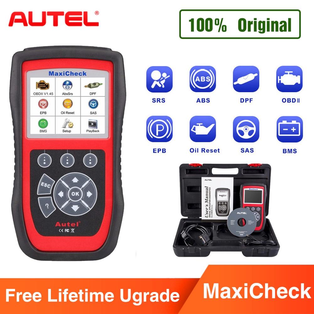 Autel MaxiCheck Pro OBD2 Auto Strumento di Diagnostica EPB/ABS/SRS/SAS/Airbag/Olio strumento di Ripristino del Servizio /BMS/DPF Speciale funzione di Auto Scanner