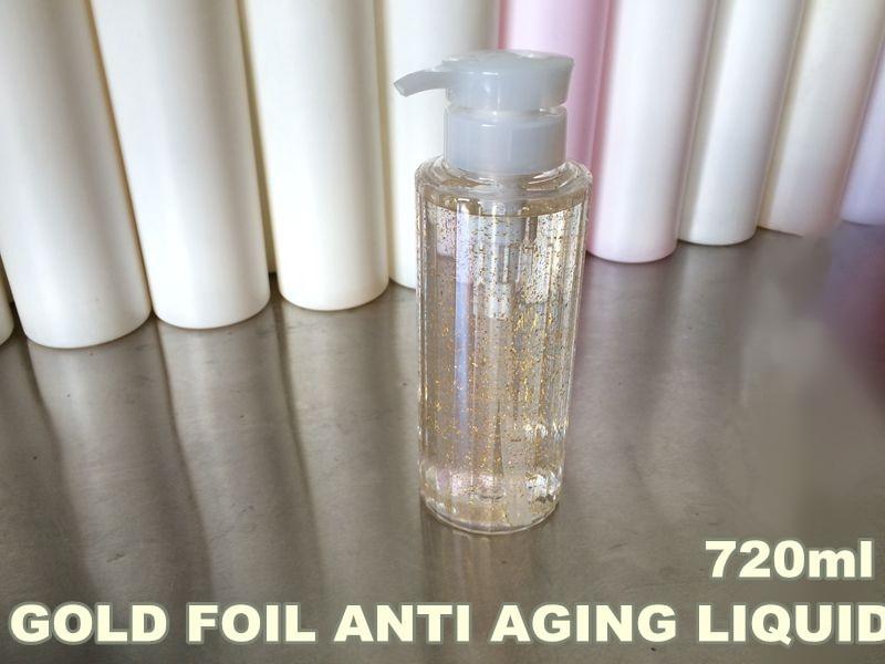 Ageless Anti Aging Anti Wrinkle Nano Gold Foil Senium Liquid 720ml Hospital Equipment мастурбатор nano toys nano
