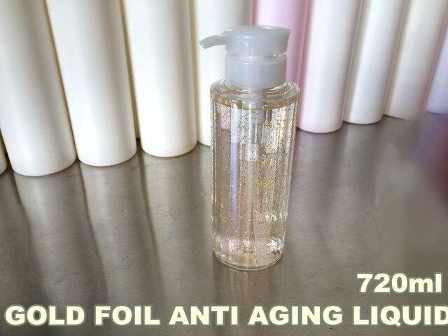 Ageless Anti Aging Anti Wrinkle Nano Gold Foil Senium Liquid 720ml Hospital Equipment