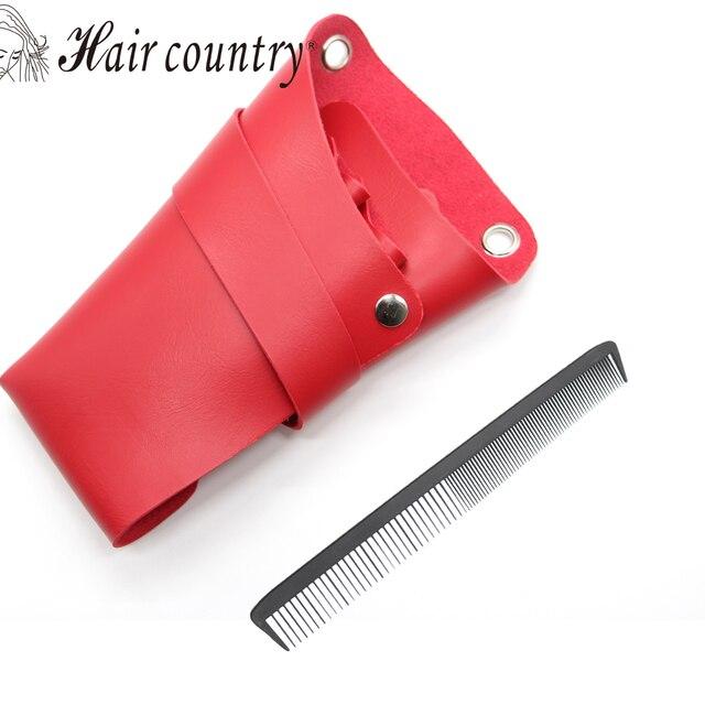 Hair Care Styling Tools Hairdresser Holster Barber Bag Leather Scissor Holder Tool Salon