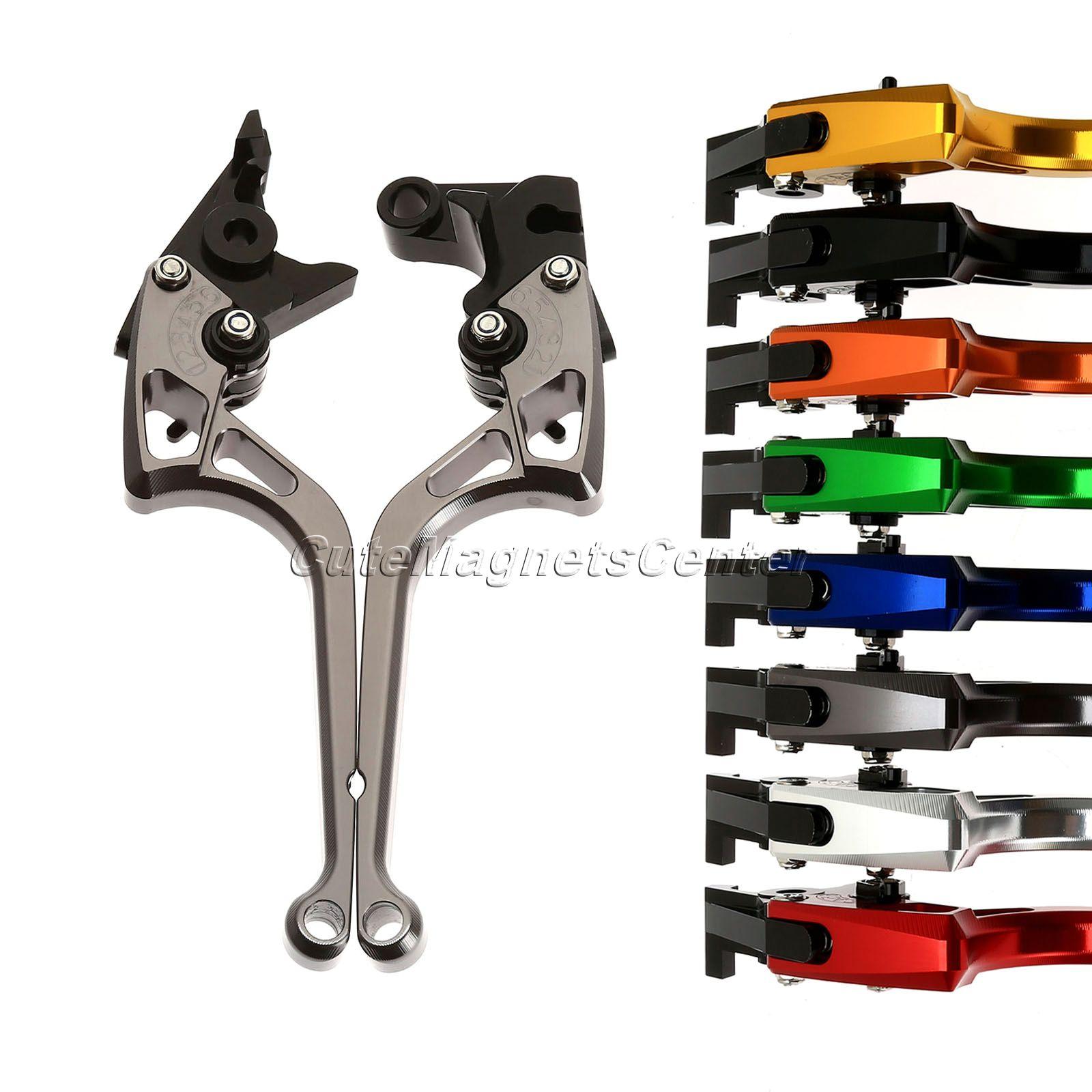 Adjustable Motorcycle CNC Aluminum Brakes Clutch Levers for Suzuki GSXR1000 2005-06 GSXR600 GSXR750 Motorbike Clutch Brake Lever cnc motorcycle brakes clutch levers for suzuki gsxr600 gsxr750 gsxr1000 gsxr 600 750 1000 2005 2006 2007 2008 2009 2010