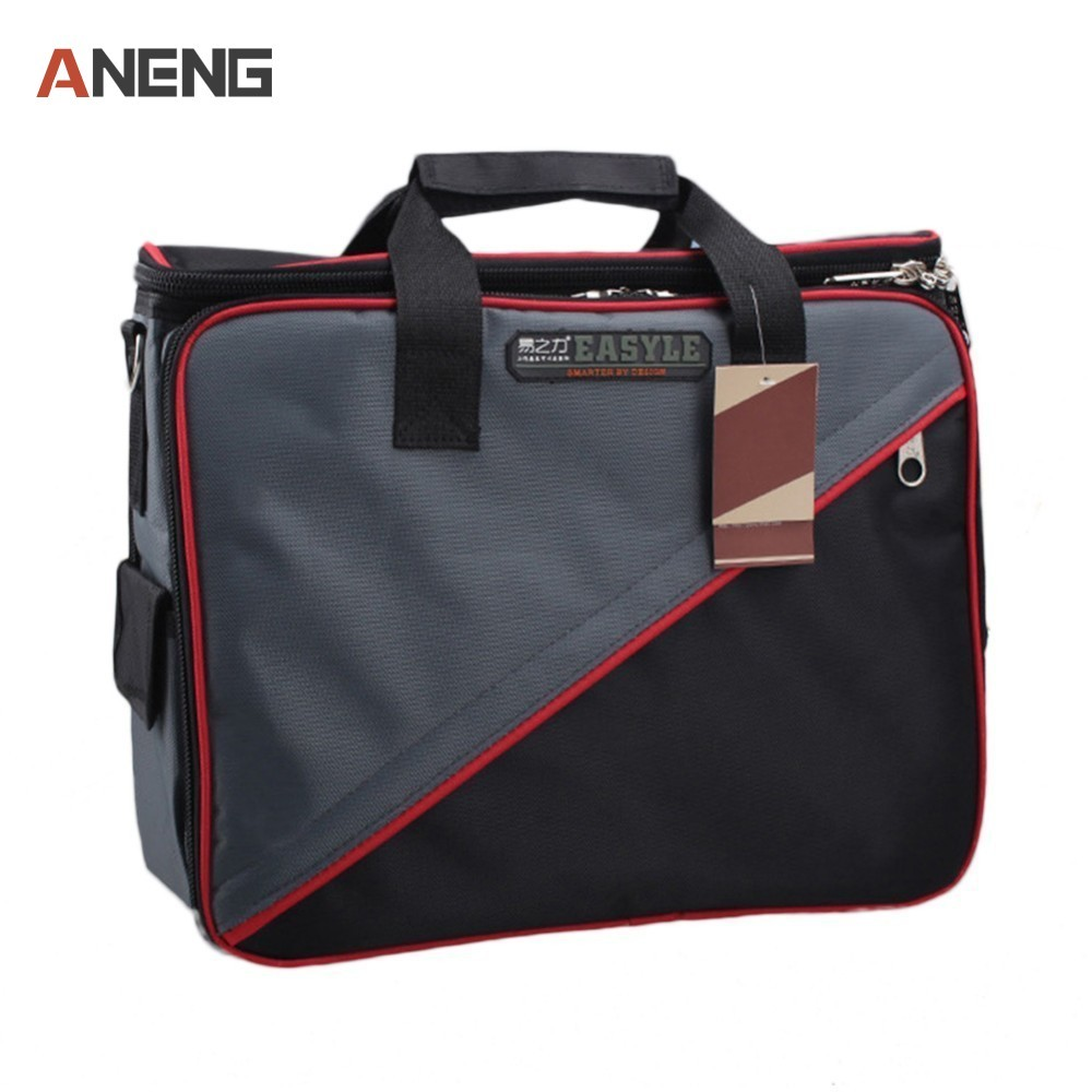 2018 Tool Belt Bags Oxford Cloth Tools Bag Top Wide Mouth Electrician Bags Workpro Ferramentas Electrician-tool-kits tool kit features oxford cloth backpack canvas thickening electrician package tool bag maintenance package