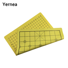 Yernea Leather + flannel Chessboard Chess Without Piece Go Game High Quality 50*44.5 CM Board And Chinese Wei qi Gift
