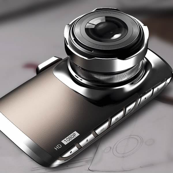 Car Truck Mini HD 1080P 170 Degree DVR Video Camera Recorder Camcoder Black Box with 3 inch LCD Monitor G Sensor Motion Detect