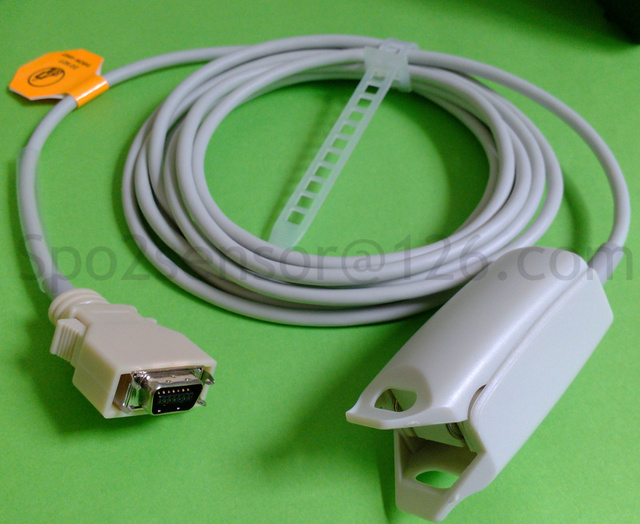 US $32 0 |Datascope MDE Invivo Spo2 sensors Adult finger clip , Spo2 probe  (U410 15 LNOP DC 12)-in Power Cords & Extension Cords from Home Improvement