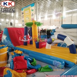 0.9mm PVC Inflatable Water Toy Water Inflatable Obstacle Inflatable Floating Island for Sale