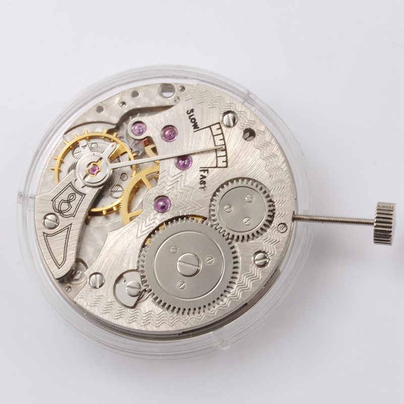 Watch Parts, 17 Jewels 6498 Hand Winding Mechanical Movement Fit Mens Wristwatch, ST36 Watch Movement MT08Watch Parts, 17 Jewels 6498 Hand Winding Mechanical Movement Fit Mens Wristwatch, ST36 Watch Movement MT08