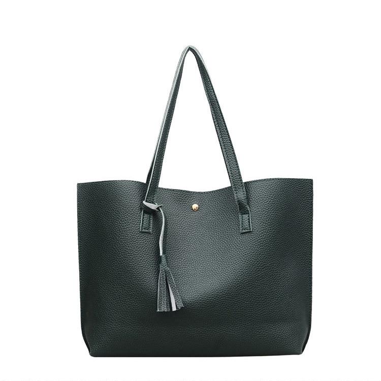 Casual Tasche 60 Größe Schulter Handtaschen los Tote Weibliche Teile Leder Designer Quaste Taschen Frauen Messenger Vintage Große xPYR1PBw