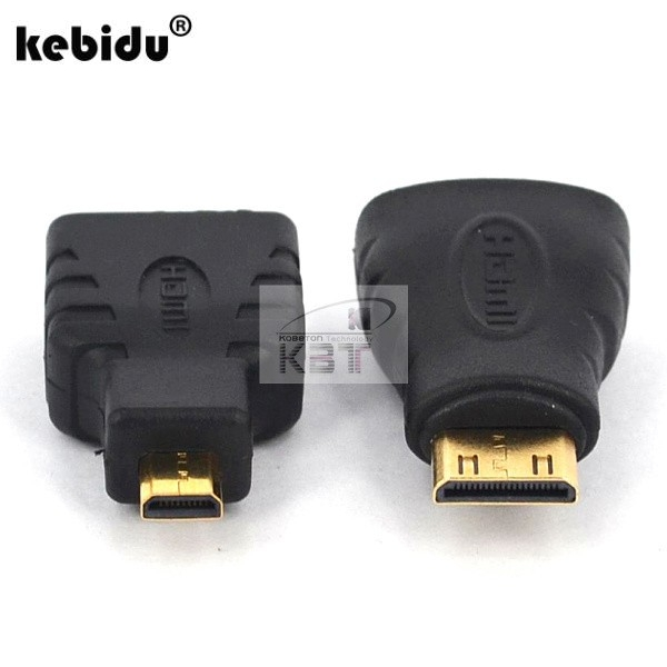Micro To Hdmi Gold Extension Adapter Connector For Vedio Tv For Xbox 360 Hdtv 1080 Fixing Prices According To Quality Of Products 2pcs Mini Hdmi Male To Hdmi Female Computer Cables & Connectors